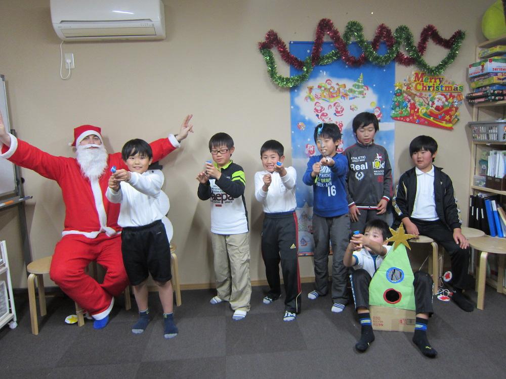 サカイイングリッシュスクール クリスマス2016(羽島校)
