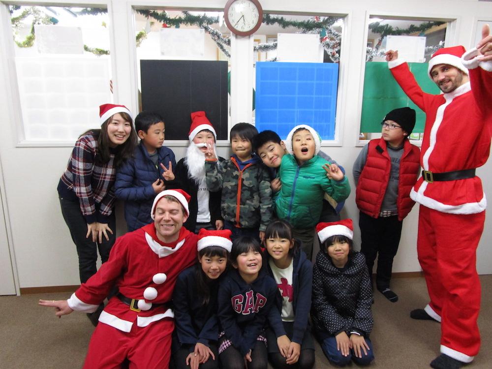 サカイイングリッシュスクール クリスマス2016(一宮校)