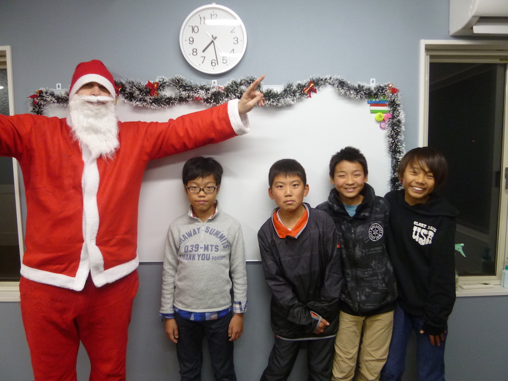 サカイイングリッシュスクール クリスマス2016(あま校)