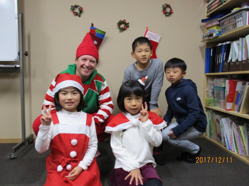 サカイイングリッシュスクール クリスマス2017(羽島校)