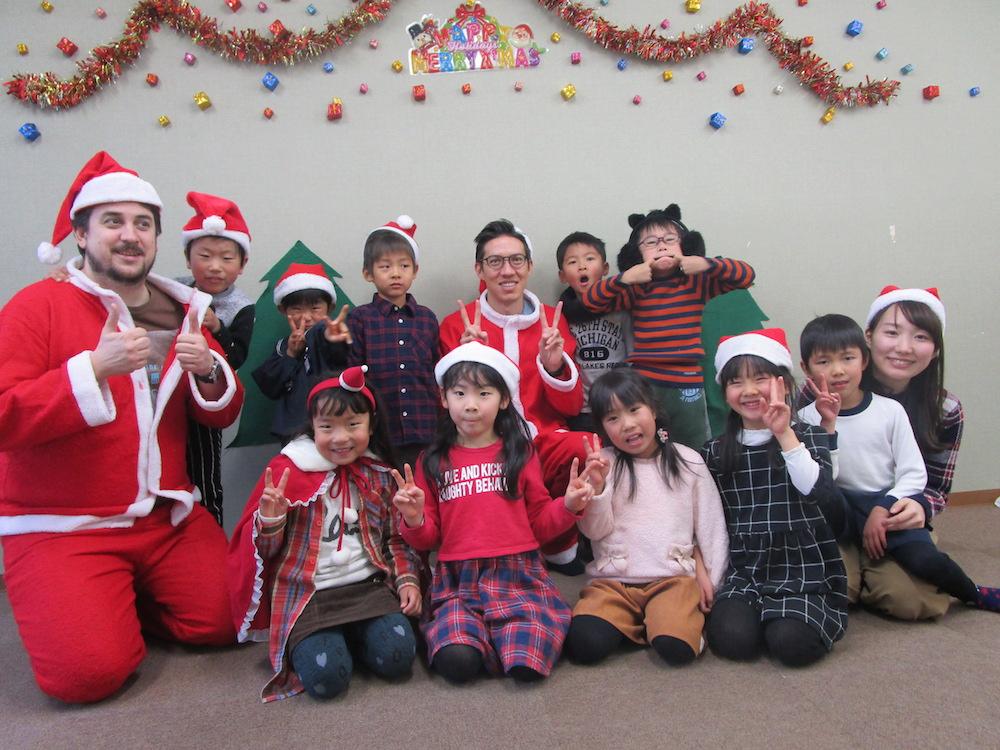 サカイイングリッシュスクール クリスマス2017(一宮校)