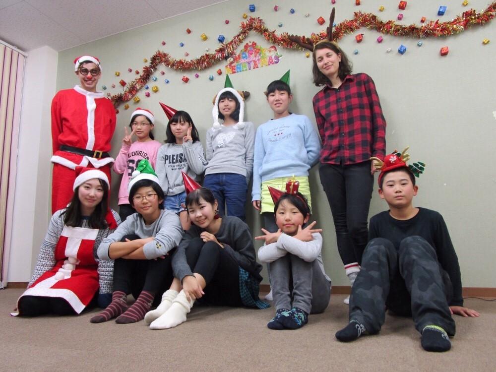 クリスマス2018 | サカイイングリッシュスクール 一宮校 | sakai english school