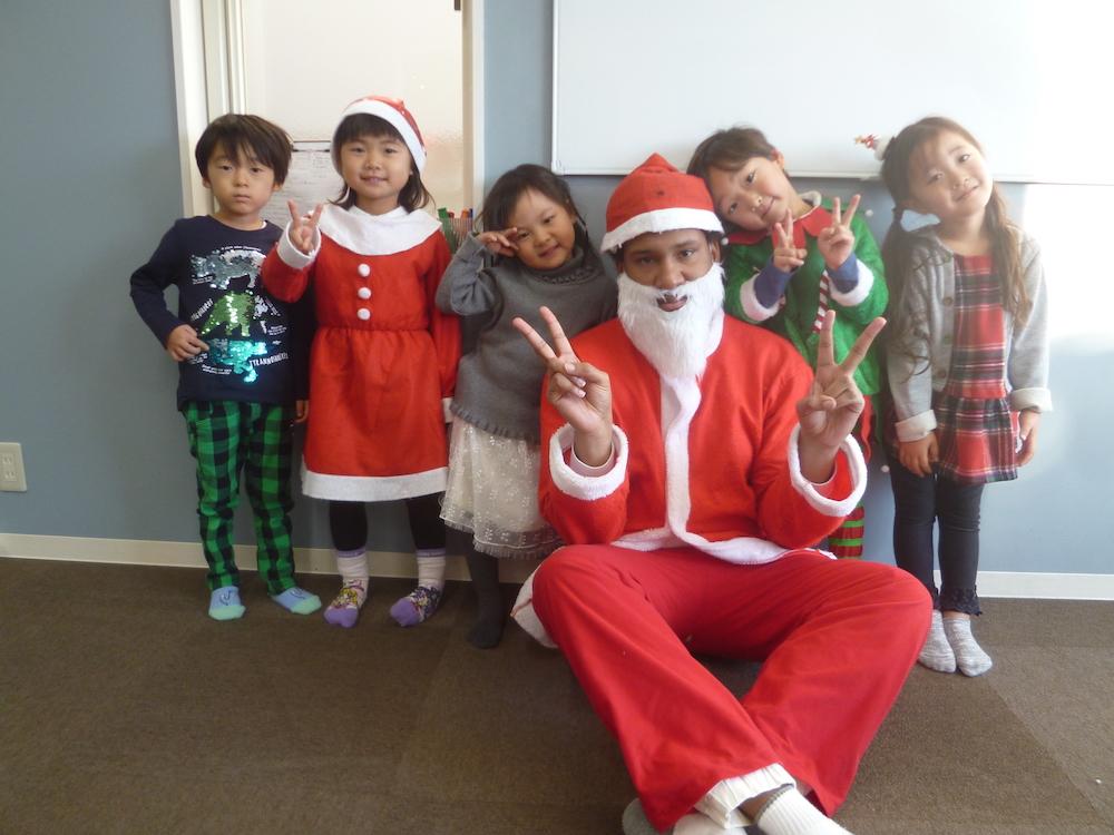 クリスマス2018 | サカイイングリッシュスクール あま校 | sakai english school